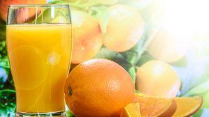 Preview wallpaper juice, oranges, fresh