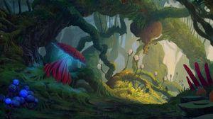 Preview wallpaper jungle, alien, fantastic, creatures