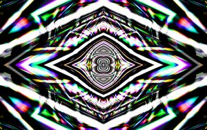 Preview wallpaper kaleidoscope, fractal, lines, abstraction