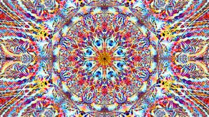 Preview wallpaper kaleidoscope, pattern, abstraction, colorful