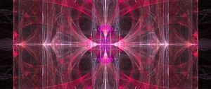 Preview wallpaper kaleidoscope, pattern, pink, abstraction