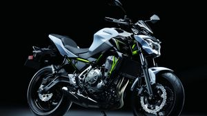 Preview wallpaper kawasaki, 2017, z650, motorcycle