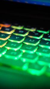 Preview wallpaper keyboard, backlight, light, computer