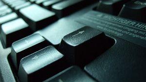 Preview wallpaper keyboard, black, arrow