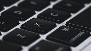 Preview wallpaper keyboard, keys, letters, macbook