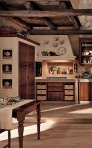 Preview wallpaper kitchen, vintage, interior, furniture, wooden
