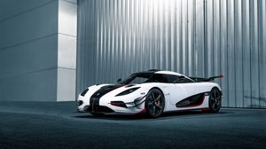Preview wallpaper koenigsegg, one, side view