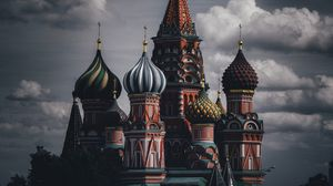 Preview wallpaper kremlin, buildings, architecture, moscow, russia