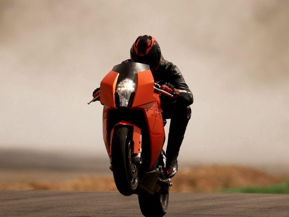 1152x864 Wallpaper ktm rc8, beautiful, sport bike, road, trick