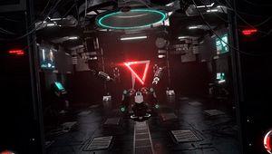 Preview wallpaper laboratory, sci-fi, mechanism, device, light