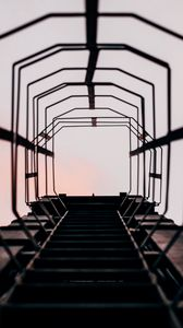 Preview wallpaper ladder, climb, sky