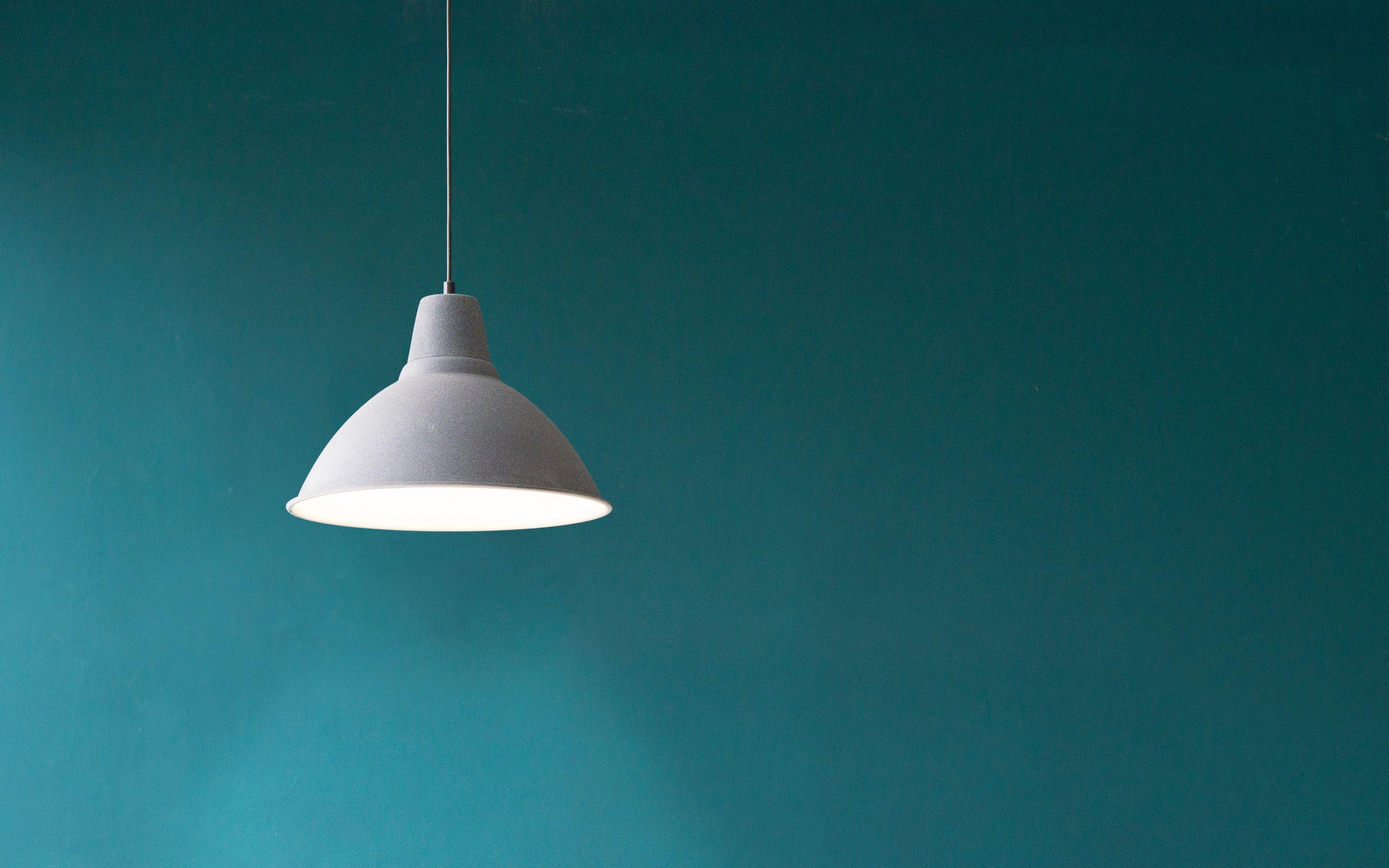 2560x1600 Wallpaper lamp, electricity, minimalism, wall