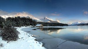 Preview wallpaper landscape, mountains, lake