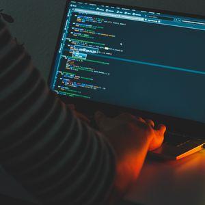 Preview wallpaper laptop, code, programming, programmer, hacker