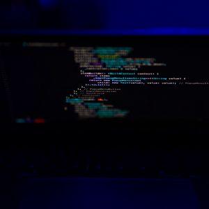 Preview wallpaper laptop, screen, code, programming