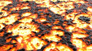 Preview wallpaper lava, surface, fiery, texture