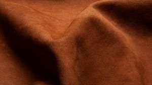 Preview wallpaper leather, folds, brown, texture