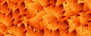 Preview wallpaper leaves, patterns, autumn, texture, maple