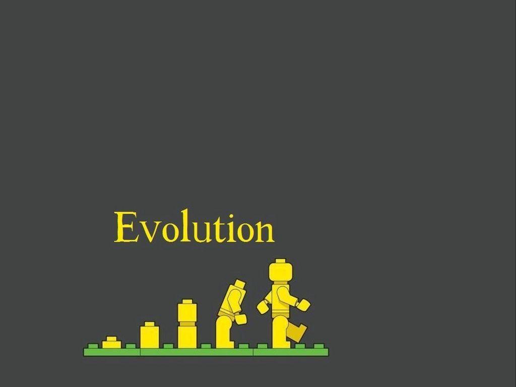 1024x768 Wallpaper lego, evolution, development
