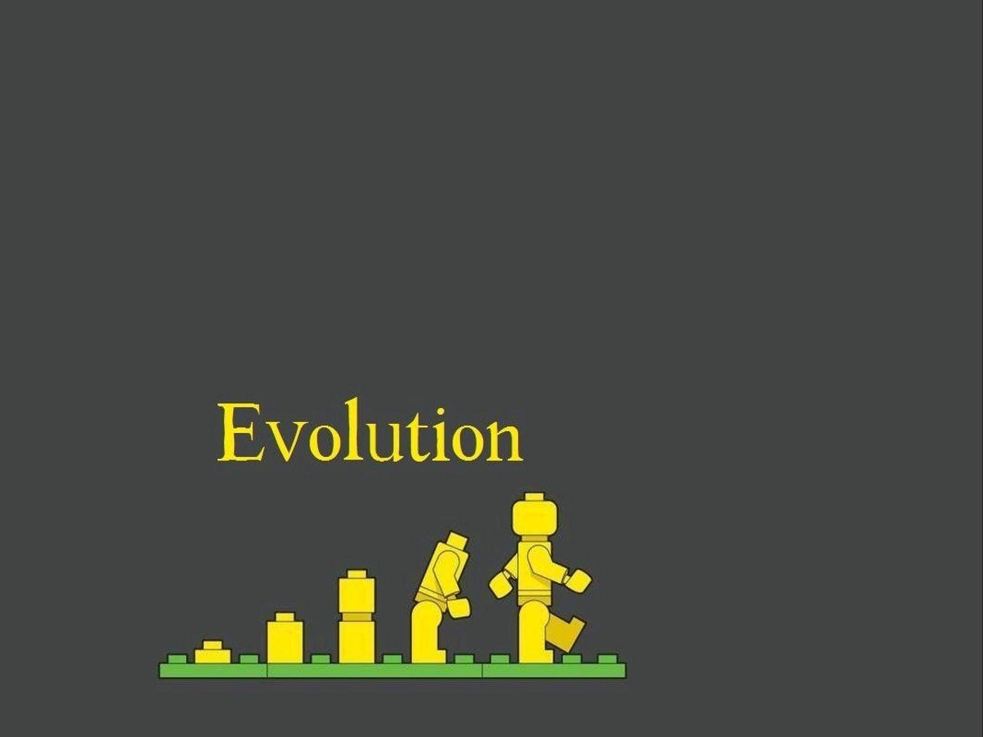 1400x1050 Wallpaper lego, evolution, development
