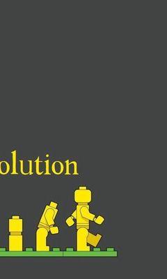 240x400 Wallpaper lego, evolution, development