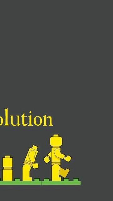 360x640 Wallpaper lego, evolution, development