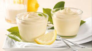 Preview wallpaper lemon, cream, dessert