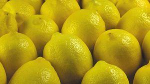 Preview wallpaper lemon, yellow, fruit