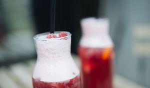 Preview wallpaper lemonade, cocktail, bottle, drink