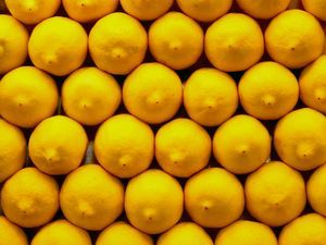 Preview wallpaper lemons, citrus, yellow