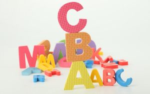 Preview wallpaper letters, toys, learning, children