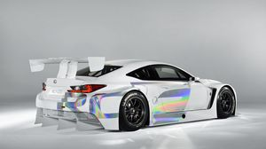 Preview wallpaper lexus, rc-f, gt3, rc, concept, white, tuning