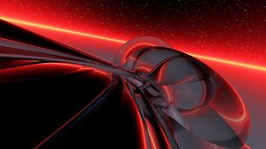 Preview wallpaper light, bright, background, red