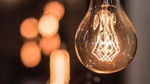 Preview wallpaper light bulb, edisons lamp, filament, light, lighting