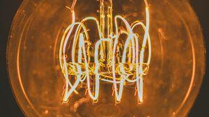 Preview wallpaper light bulb, edisons lamp, filament, light, electric