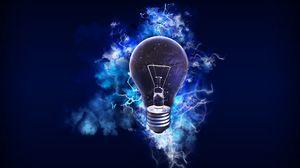 Preview wallpaper light bulb, electricity, energy, light