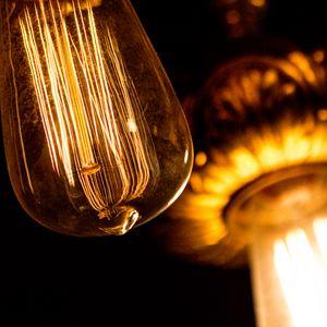 Preview wallpaper light bulb, incandescent lamp, electricity, light, dark
