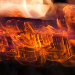 Preview wallpaper light, curves, fire, freezelight, abstraction