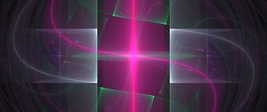Preview wallpaper light, lines, abstraction, pink