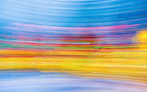 Preview wallpaper light, rotation, blur, long exposure, abstraction