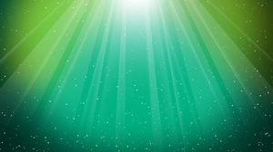 Preview wallpaper light, shiny, green, lines, fan
