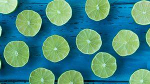 Preview wallpaper lime, citrus, cut, ripe