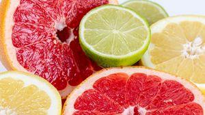 Preview wallpaper lime, grapefruit, citrus, fruit