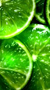 Preview wallpaper lime, segments, slices, green, background