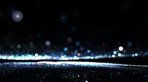 Preview wallpaper line, glitter, glare, dark