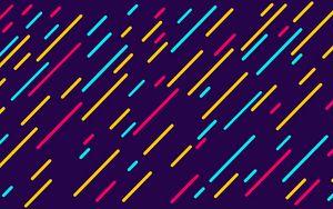 Preview wallpaper lines, colorful, oblique, patterns, texture