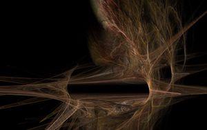 Preview wallpaper lines, haze, plexus, abstraction