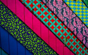 Preview wallpaper lines, patterns, wall, colorful