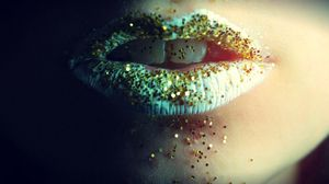 Preview wallpaper lips, gloss, teeth, girl