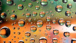 Preview wallpaper liquid, bubbles, macro, texture